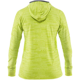 NRS H2Core Silkweight Pull à capuche Femme, lime